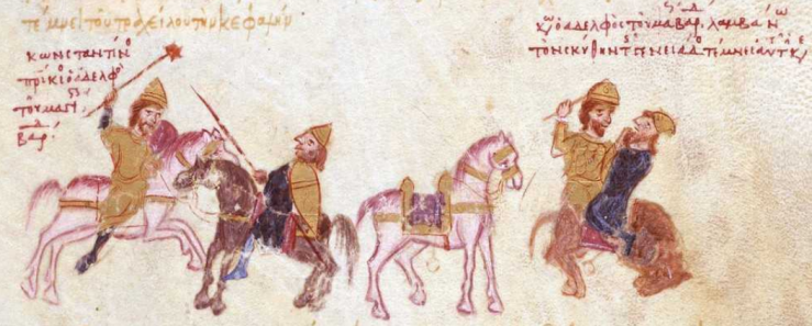 Konstantinos Skleros och ryssen