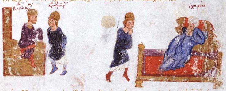 Konstantinos Skleros skickas till Baghdad